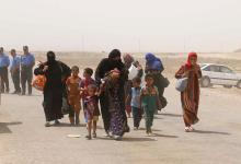 صورة قتلى مدنيون في انفجار قنبلة في الحويجة شمالي العراق