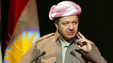 صورة البارازاني :لن نتنازل عن حق الاستقلال وتواجدنا جاء باتفاق عراقي امريكي