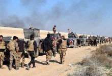 صورة القوات العراقية تلتحم شمالا وداعش بعد خسارته يناور شرقا