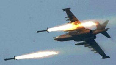 صورة مقتل 9 ارهابيين بقصف جوي غربي الأنبار
