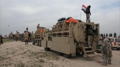 صورة القوات العراقية تستعد لهجوم على غرب الموصل