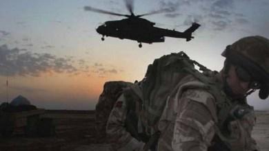 صورة قوات امريكية تنفذ عملية انزال في البو كمال