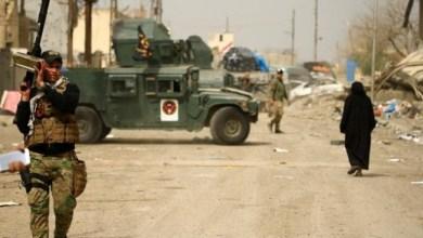 صورة الاتحادية تتوغل باتجاه جامع النوري وتقتل 13 ارهابيا