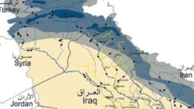 صورة الموارد المائية تناقش الوضع المائي لحوضي نهري دجلة والفرات وروافدهما