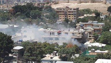 صورة بالصور: هجوم داعش على سفارة العراق في كابول
