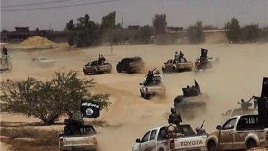صورة داعش يأمر بحرق مقراته في تلعفر