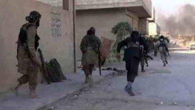 صورة مع انطلاق عملية تحرير الشرقاط قادة داعش يهربون مع عوائلهم باتجاه الحويجة