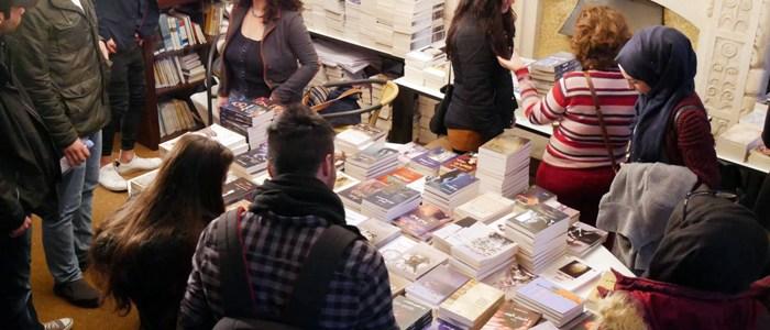 أفتتاح معرض الكتاب الأول ضمن فعاليات أسبوع مدى الثقافي في برلين