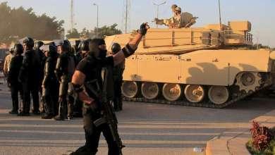 صورة مقتل 53 شخصا من القوات الأمن المصرية في اشتباكات في صحراء الغربية