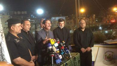 صورة شرطة كربلاء تمنع اثارة الهتافات الطائفية خلال زيارة الأربعين