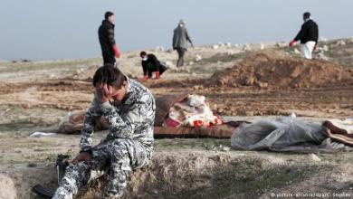 صورة السلطات العراقية تعثر على مقبرتين جماعتين قرب قضاء سنجار