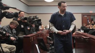 صورة سجن طبيب أمريكي لاري نصار على قضية التحرش الجنسي لمدةتصل 175عام