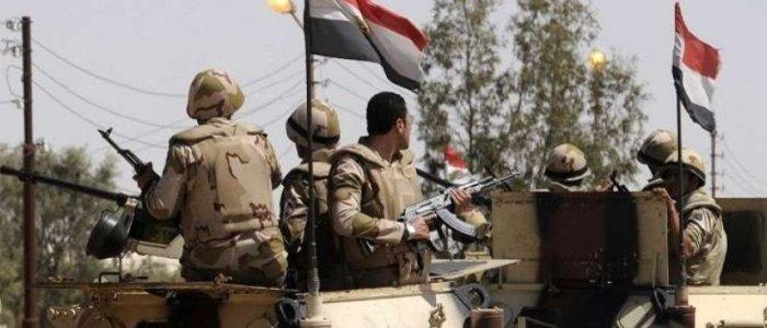 الجيش المصري يقتل 16 عنصرا تكفيريا في سيناء