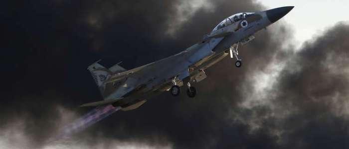 تحطم مقاتلة إسرائيلية بعد هجوم على أهداف إيرانية في سوريا