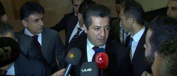 بارزاني: مشكلتنا مع بغداد سياسية ولا ينبغي اختزالها بالرواتب وفتح المطارات