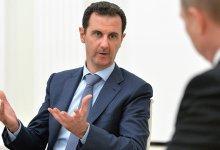 """صورة بشار الأسد يصدق على""""عقد ضخم"""" مع روسيا"""