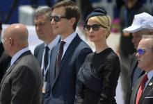 صورة كوشنير وإيفانكا يخططان بافتتاح السفارة الأمريكية في القدس