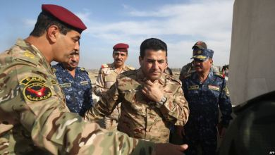 صورة العراق وثلاث دول يمسكون الحدود بوجه التسلل الارهابي