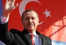 صورة أردوغان يعلن فوزه في الانتخابات بأغلبية