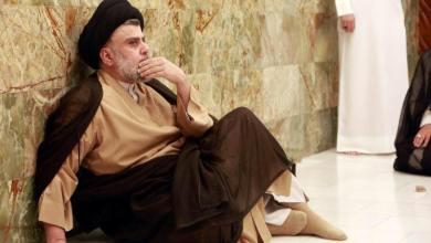 صورة الصدر يشترط على العبادي الاستقالة من حزبه لتولي رئاسة الوزراء
