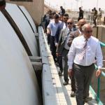 وزير الموارد المائيّة من ميسان :هناك نزول تدريجي في درجة الملوحة وزيادة التصاريف المائيّة