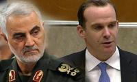 صحيفة كويتية: سليماني التقى ماكغورك سراً لبحث تشكيل الحكومة العراقية