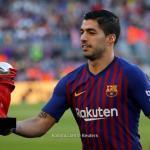 بالصور: سواريز يحتفل بجائزة لاعب الشهر في الليجا