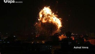 صورة بعد تعرضها لقصف اسرائيلي.. نشطاء واعلاميون يعلنون تضامنهم مع قناة الاقصى