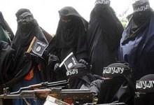 """صورة """"عرائس داعش"""" الثلاث.. تفاصيل مثيرة عن العائلة البريطانية في سوريا"""