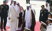 العاهل السعودي يدعو أمير قطر لحضور قمة مجلس التعاون الخليجي