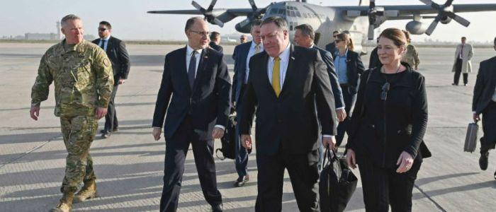 ماذا دار في زيارة بومبيو المفاجئة إلى العراق؟