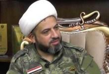 """صورة الحشد الشعبي يعتقل الشيخ """"أوس الخفاجي"""" ويغلق مقره في الكرادة!"""