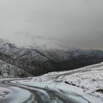 سقوط موجة كثيفة من الثلوج على جبال كردستان !