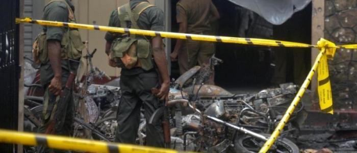 فيديو يظهر انتحاري سريلانكا..مترددا في خطواته نحو الموت (شاهد)