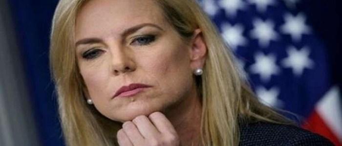 ترامب يعلن استقالة وزيرة الأمن الداخلي الامريكي