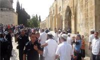 170 متطرفا بينهم وزير إسرائيلي يقتحمون المسجد الأقصى