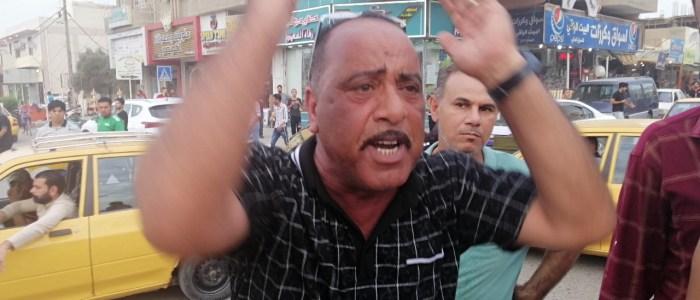 اعفاءآت بالجملةلقيادات أمنية عراقية بسبب العنف ضد المتظاهرين