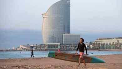 """صورة """"تقنية ذكية"""" لصيف خال من كورونا.. وشواطئ إسبانيا تستعد"""