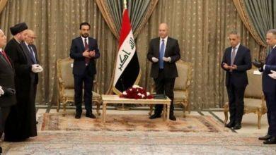 صورة صحيفة: حكومة الكاظمي ستحتوي فصائل موالية لإيران لمحاربة امريكا في العراق