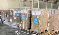 شحنة مساعدات طبية أممية طارئة تصل العراق