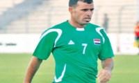 """اصابة نجم منتخب العراق """"عماد محمد """" بفيروس كورونا"""