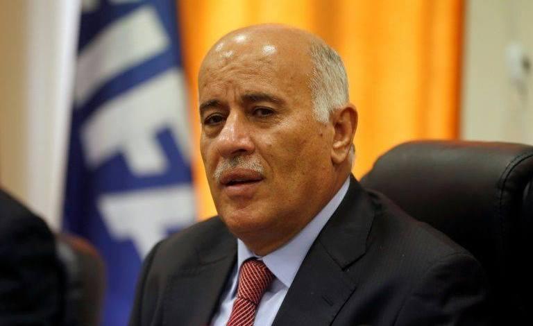 """صورة تصريحات الرجوب تثير حنق مسؤولين في """"فتح"""""""