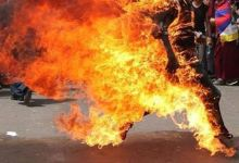 """صورة عشريني يحرق شقيقته حتى الموت بواسطة """"جدر"""" جنوبي العراق"""