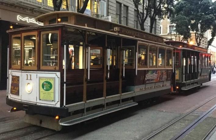 【サンフランシスコ】人気のケーブルカーに並ばずに乗る方法