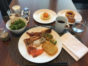 コンラッド大阪に朝食を食べに行ってきた(アトモスダイニング)