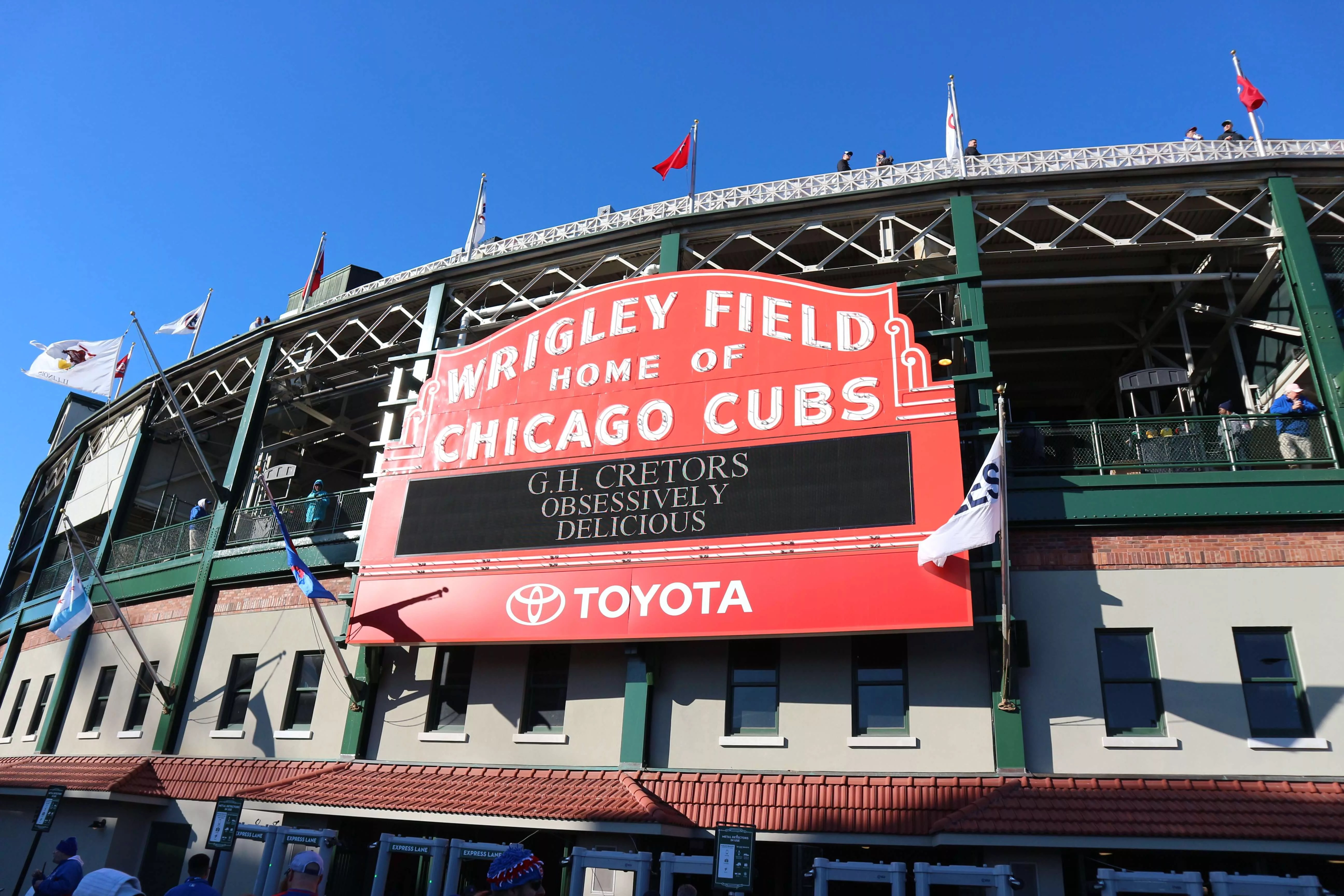 リグレーフィールドでのシカゴカブス戦観戦は最高だった!