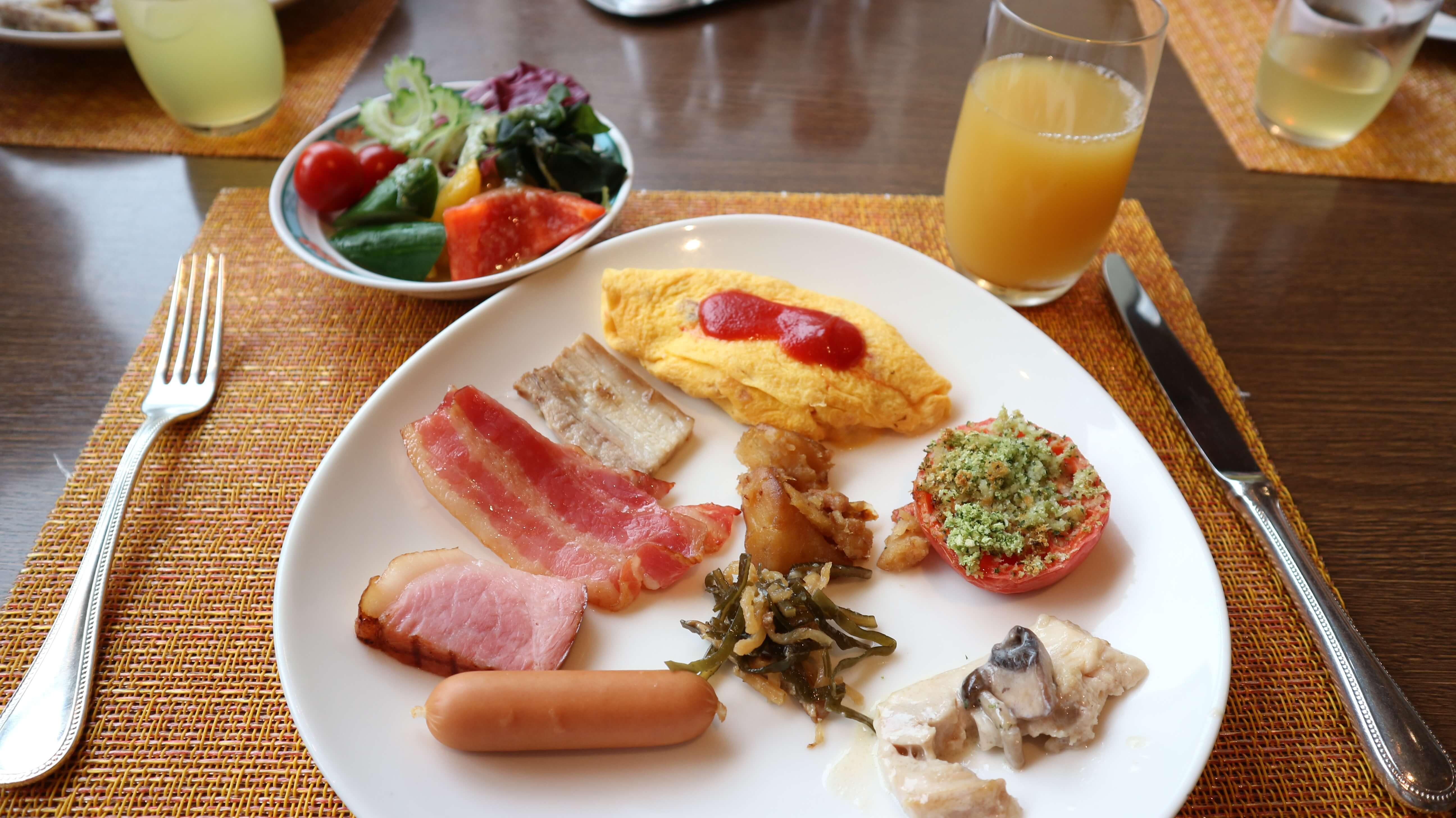 ANAインターコンチネンタル石垣リゾート「サンコーストカフェ」朝食ブッフェメニュー紹介