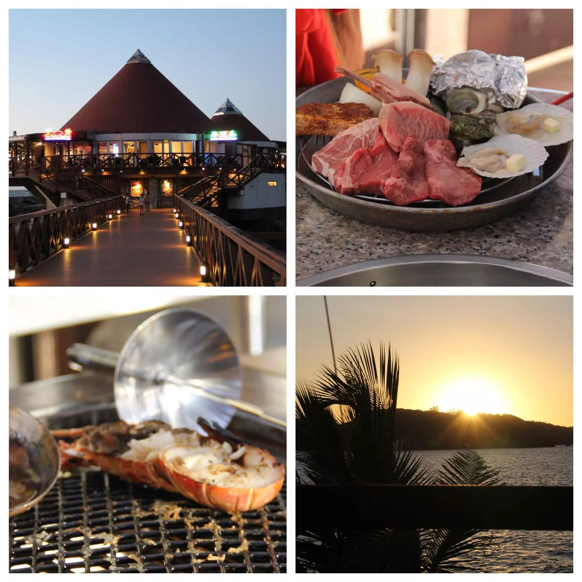 ルネッサンスリゾートオキナワ・「コーラルシービュー」ディナー(夕陽と海風を感じながらのバーベキュー)