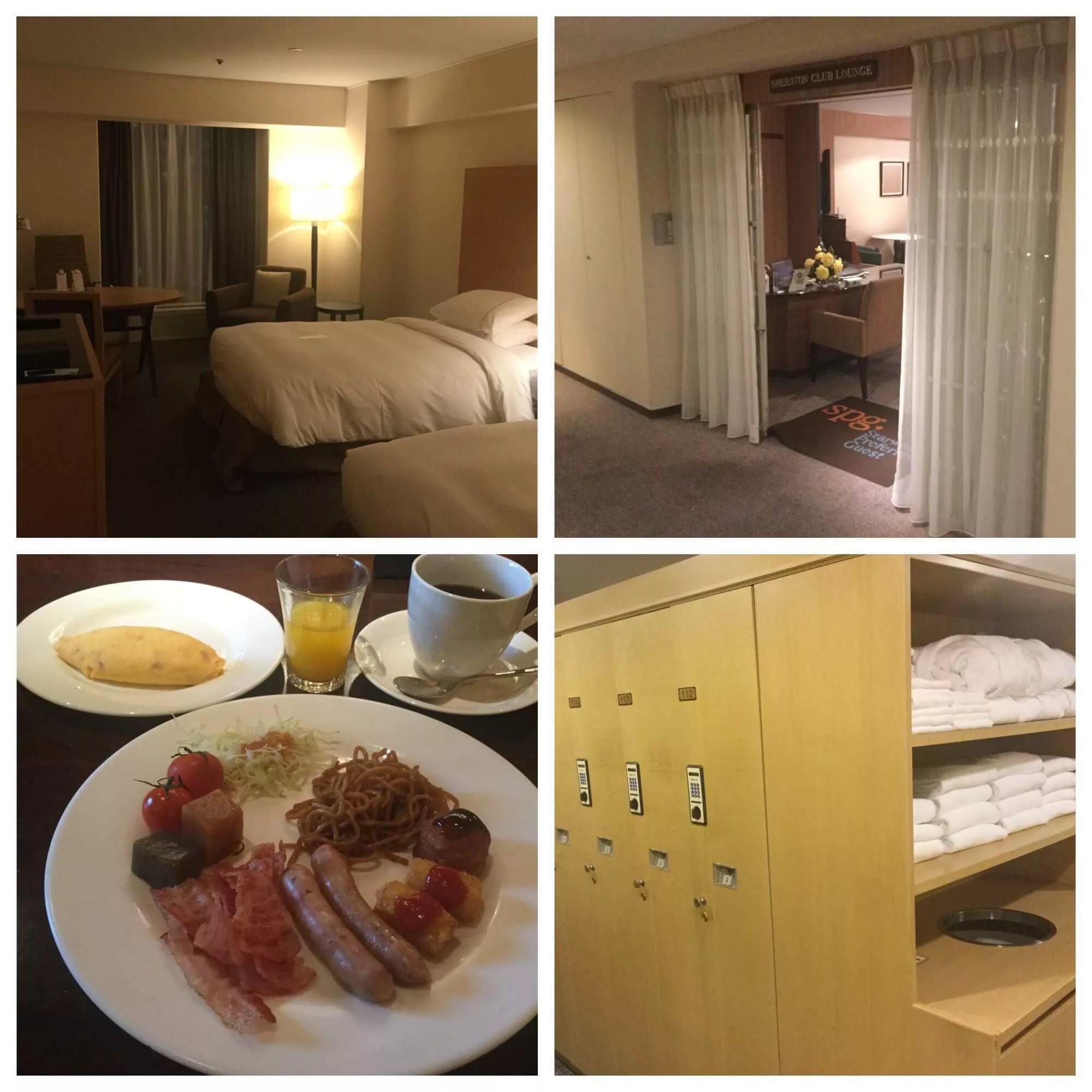 シェラトン都ホテル大阪宿泊記(朝食・ラウンジの様子とプラチナ特典を中心に)