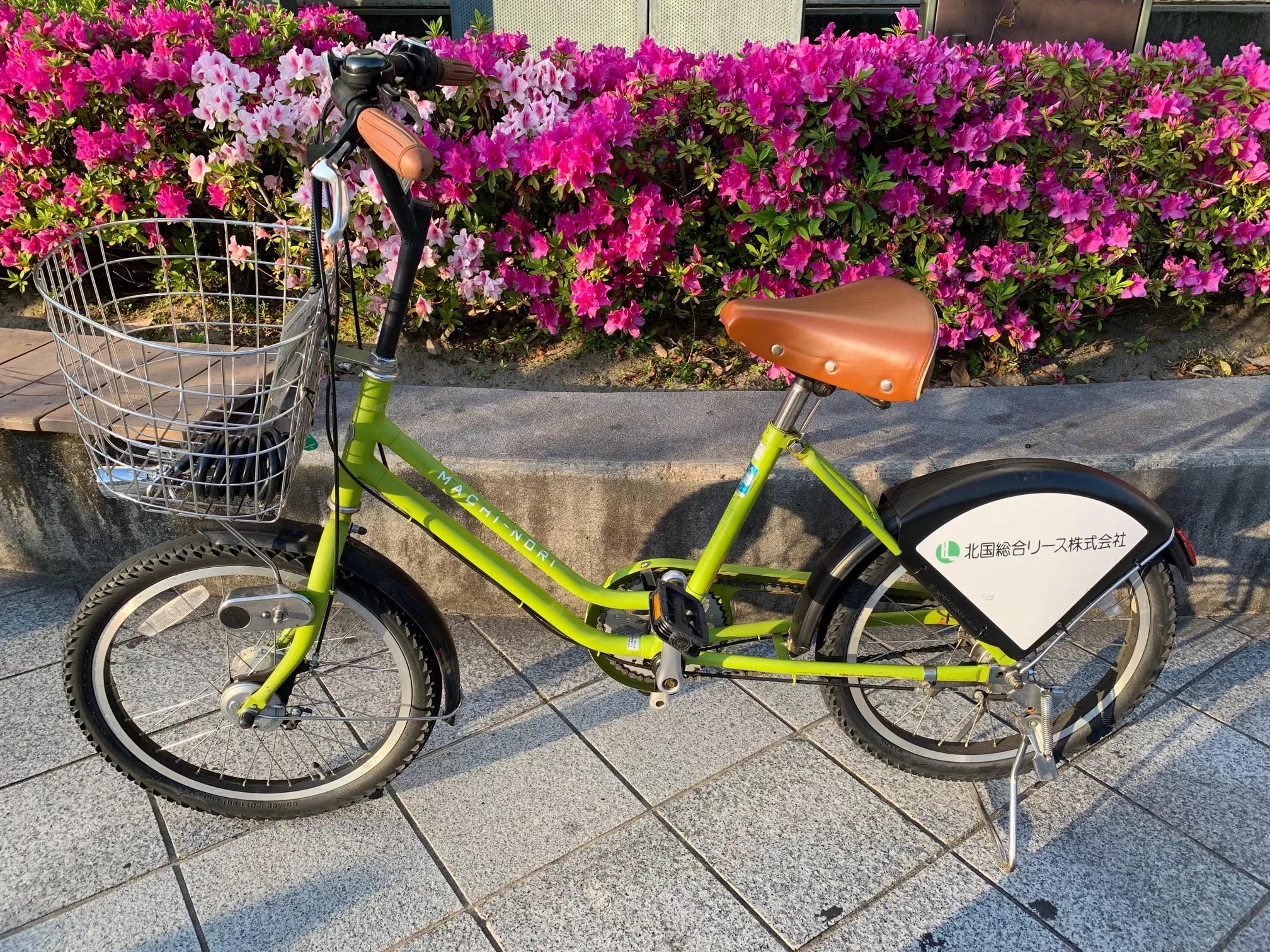 金沢観光はレンタサイクル「まちのり」がとっても便利!